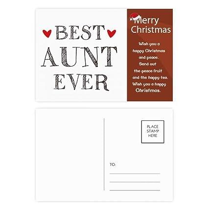 Amazon.com : Best aunt ever Quote Relatives Christmas ...