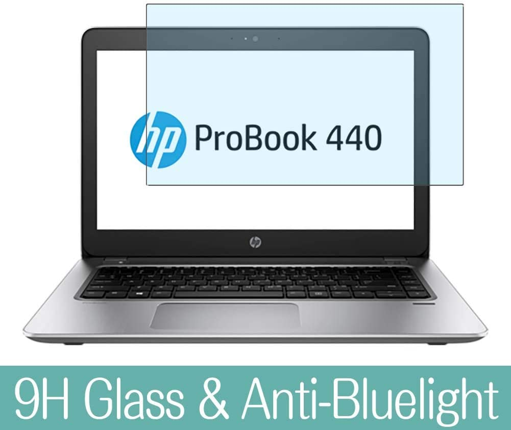 "Synvy Anti Blue Light Tempered Glass Screen Protector for HP ProBook 440 G4 14"" Visible Area 9H Protective Screen Film Protectors"