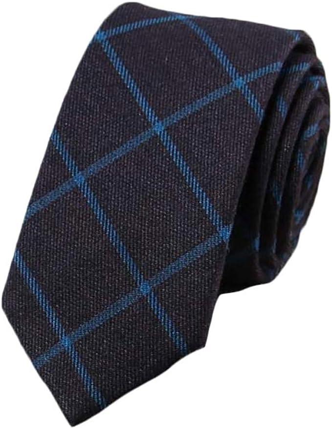 JUNGEN Corbata a Cuadros Corbata de Estrecha para Hombres ...