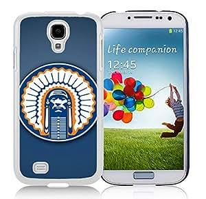 New Unique Designed Cover Case For Samsung Galaxy S4 I9500 i337 M919 i545 r970 l720 With illinois fighting illini (2) Samsung Galaxy S4 White Phone Case 194