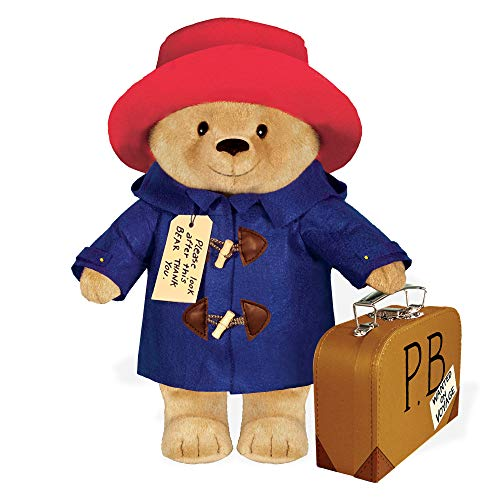 "Paddington Bear 16""Soft Toy w/ suitcase from YOTTOY"