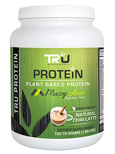 Tru Protein Chai Latte – 25 Serving – Natural Plant Based Protein Review