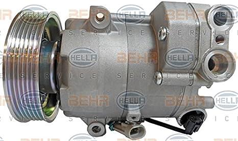 BEHR HELLA SERVICE 8FK 351 340-861 Compresor, aire acondicionado: Amazon.es: Coche y moto