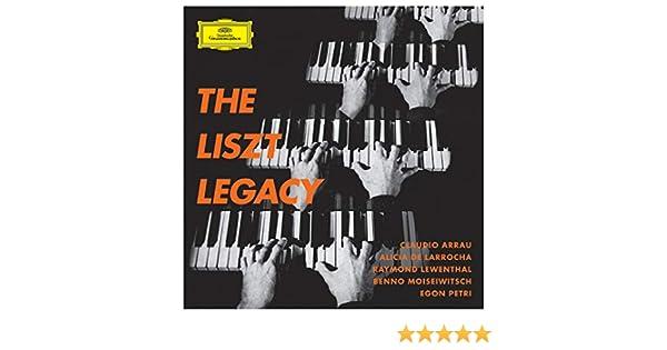 The Liszt Legacy by Claudio Arrau & Alicia de Larrocha & Raymond Lewenthal & Benno Moiseiwitsch & Egon Petri on Amazon Music - Amazon.com
