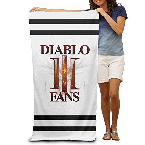 [ARPG Diablo 3 Fathom Studios Fans Logo Beach Towel] (Diablo Reaper Of Souls Costume)