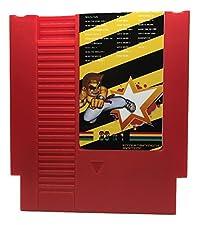 33 in 1 NES Game Cart Video Game Multi Super Games (Red Cartridge)