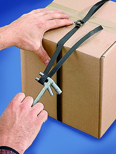 1//2 x 3000 IPS Self-Dispensing Strap Kit w//300 Wire Buckles /& 1 Pull Tensioner