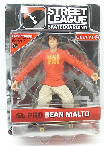 Action Figure Target (Street League Skateboarding Pro Sean Malto Flex Figure Series 1 Target Exclusive)