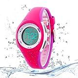 Kids Digital Sport Watch Outdoor Waterproof Watch with Alarm for Child Boy Girls