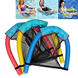 Generic Generic Design Pool Swimming Noodle Seats Sling Pool Floating Fun Chair for Adult Kid Child Multi Colors 6x150cm 7X130CM 2 Size Blue 6X150CM