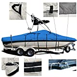 EliteShield V-Hull Fishing Tournament Boat w/Ski
