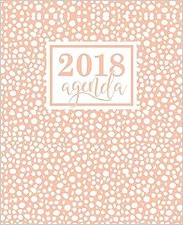 Amazon.com: Agenda: 2018 Agenda semana vista español ...