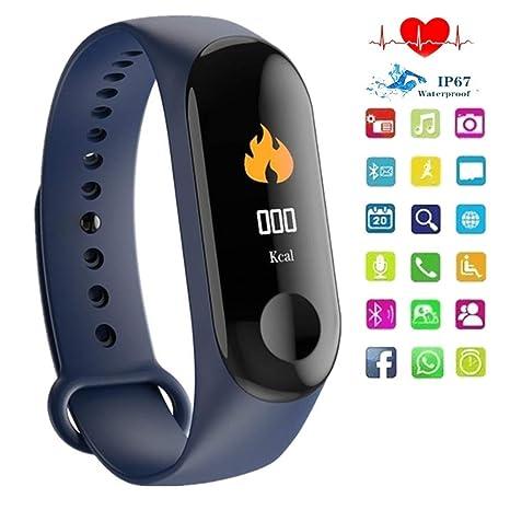 Amazon.com: QUARKJK Fitness Tracker Reloj Inteligente ...