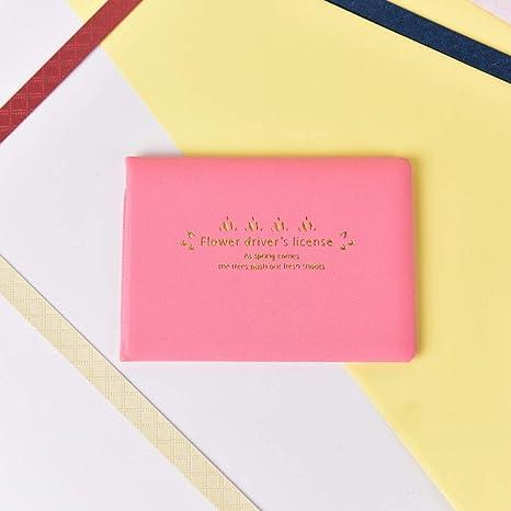 Amazon.com: Gold Happy - Funda de piel sintética con tapa ...