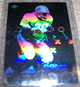 Care One Credit Card >> Amazon.com : 1991 Upper Deck Barry Sanders Hologram NFL Football Card : Sports Related Trading ...