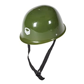 8506e909337 Wicked Costumes Army Helmet Plastic Hat Outfit accessory for Soldier  Military Fancy Dress