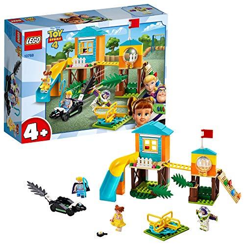레고 (LEGO) 토이 스토리 4 버즈 & 보 핍 놀이터 모험 10768 디즈니 블록 장난감 소녀 소년