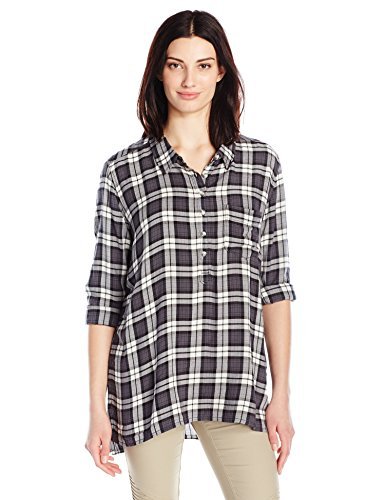 Smoke Kavu Easton Mujeres Black De Camisa XqSarX