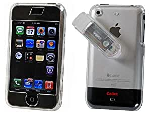 Snap On Transparent Clear Phone Cover for AT&T Apple iPhone 1st Gen Protector Case