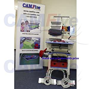 CAMFive CFSE-DM1501 commercial embroidery machine