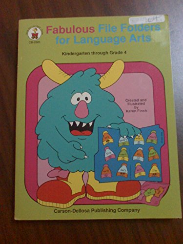 Fabulous File Folders for Language Arts: Kindergarten through Grade 4 (Stick Out Your Neck - CD-2301) - Finch Stick