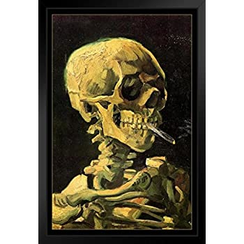 Amazon.com: Vincent Van Gogh Skull of A Skeleton with