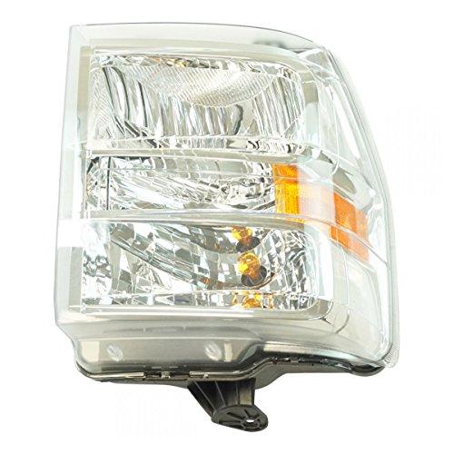 Halogen Headlight Lamp Assembly RH Passenger Side for Ford Van Pickup Brand (Side Van Passenger Rh)