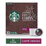 Starbucks Caffè Verona Dark Roast Single Cup Coffee for Keurig Brewers, 32 Count