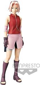 Banpresto 39765 Naruto Shippuden Shinobi Relations Haruno Sakura Grandista Figure