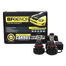 BFXenon LED H13 Lifetime Warranty (H13 High/Low) All Colors Premium OEM LED Headlight Upgrade kit