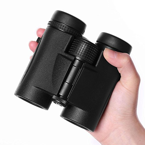 Compact Waterproof Roof Prism Binoculars, 8x32 HD bird watching Binoculars for Adults, Professional Wide Angle Birding Hunting Boating Binocular (Angle Roof)