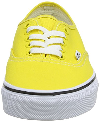 Vibrant White Unisex Adulto Yellow Giallo True Giallo Sneakers U Vans Authentic xvn7w0Hpv