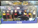 Star Trek Next Generation 25th Anniversary Limited Edition Collectible PEZ Set