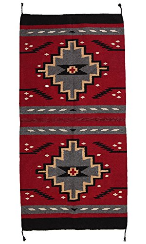 (El Paso Designs Beautiful Hand-Woven Southwest Style Accent Rug Pattern 32