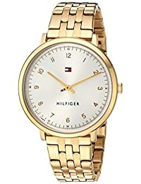 Tommy Hilfiger Women's 'Sport' Quartz and Stainless-Steel Casual Watch, Color Gold-Toned (Model: 1781761)