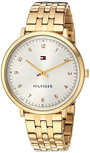 Tommy Hilfiger Women's Sport' Quartz Gold-Tone-Stainless-Steel Casual Watch, Color:Gold-Toned (Model: 1781761)