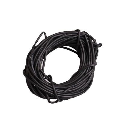 Amazon Com Black 3mm Dia 21 Polyolefin Heat Shrink Tubing