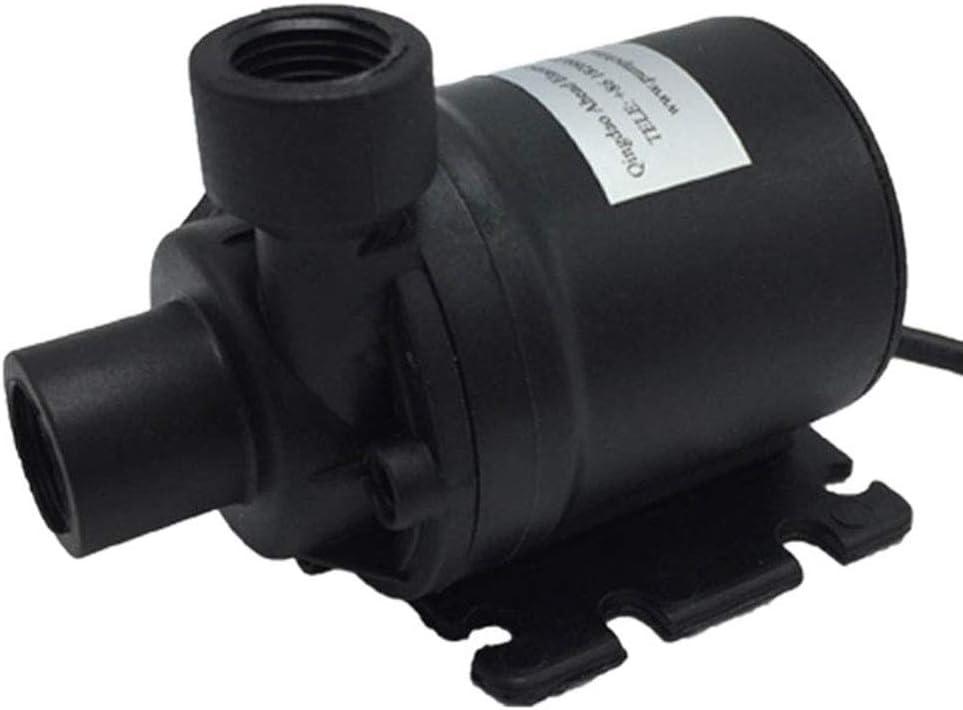 Circolazione 800L H 5m DC 12V Booster pompa ad acqua senza spazzola solare 12V Motor Acqua pompa ad acqua sommergibile