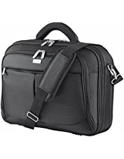 Save on Trust Sydney 17 Inch Laptop Bag Business Briefcase for 17.3 Inch Laptops - Black and more