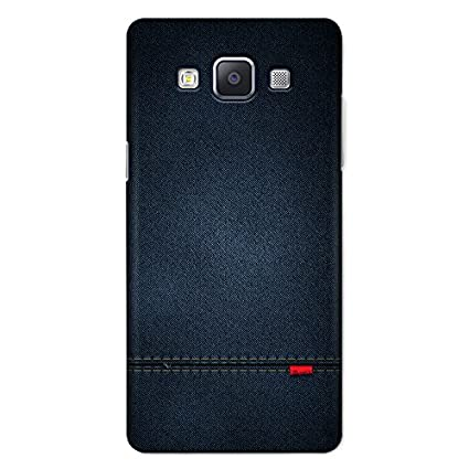 official photos e65ab 5a850 CrazyInk 3D Back Cover for Samsung A7 2015 - Blue: Amazon.in ...