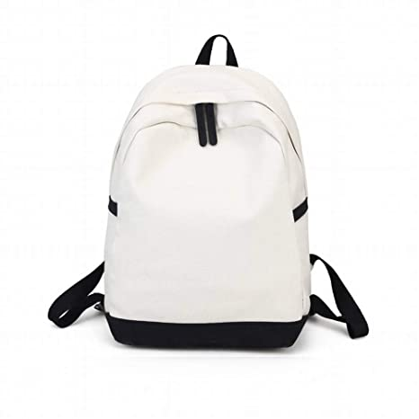 4eb5f4ce04ad MKG Creative Fashion Multi-Purpose Nylon Pure Color Women s Backpack Pure  Color Soft Face Girls