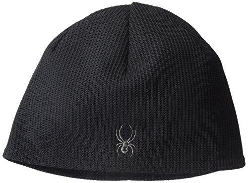 Spyder Stryke Fleece Hat, Black, (Spyder Mens Logo Cap)