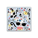 Contact Lens Box Holder Container Case Storage Eyecare Kit - Cute Cats