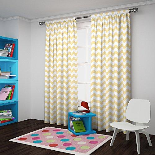 ECLIPSE Kids Room Darkening Curtains for Bedroom - My Scene 42