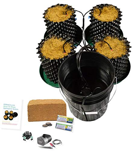 - (4) Air Pot Plant Germination & Propagation Drain to Waste Cococoir kit H2OtoGro