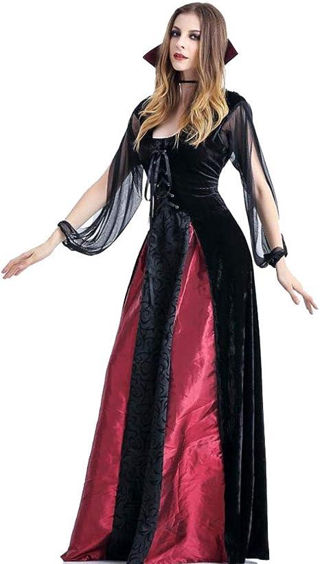 LaLaLa Disfraz De Halloween Disfraz De Bruja Femenina Vestido De ...