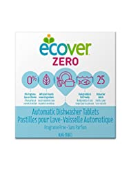Ecover Naturally Derived Automatic Dishwasher Tablets, Zero F...