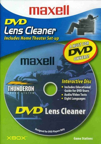 Maxell 190059 Dvd Only Lens Cleaner