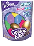 willy wonka chocolate bar - Wonka Egg Hunt with a Golden Egg, 12 Count, 3.4 Ounce