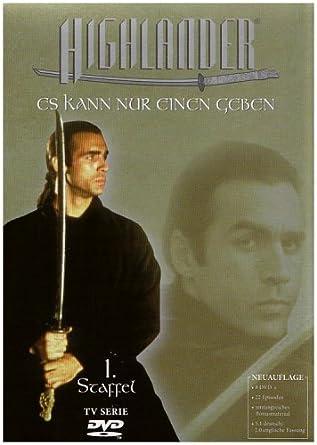 Highlander Staffel 1 8 Dvds Amazonde Adrian Paul